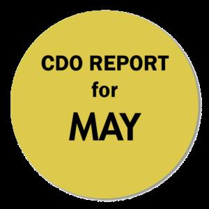 CDO REPORT MAY