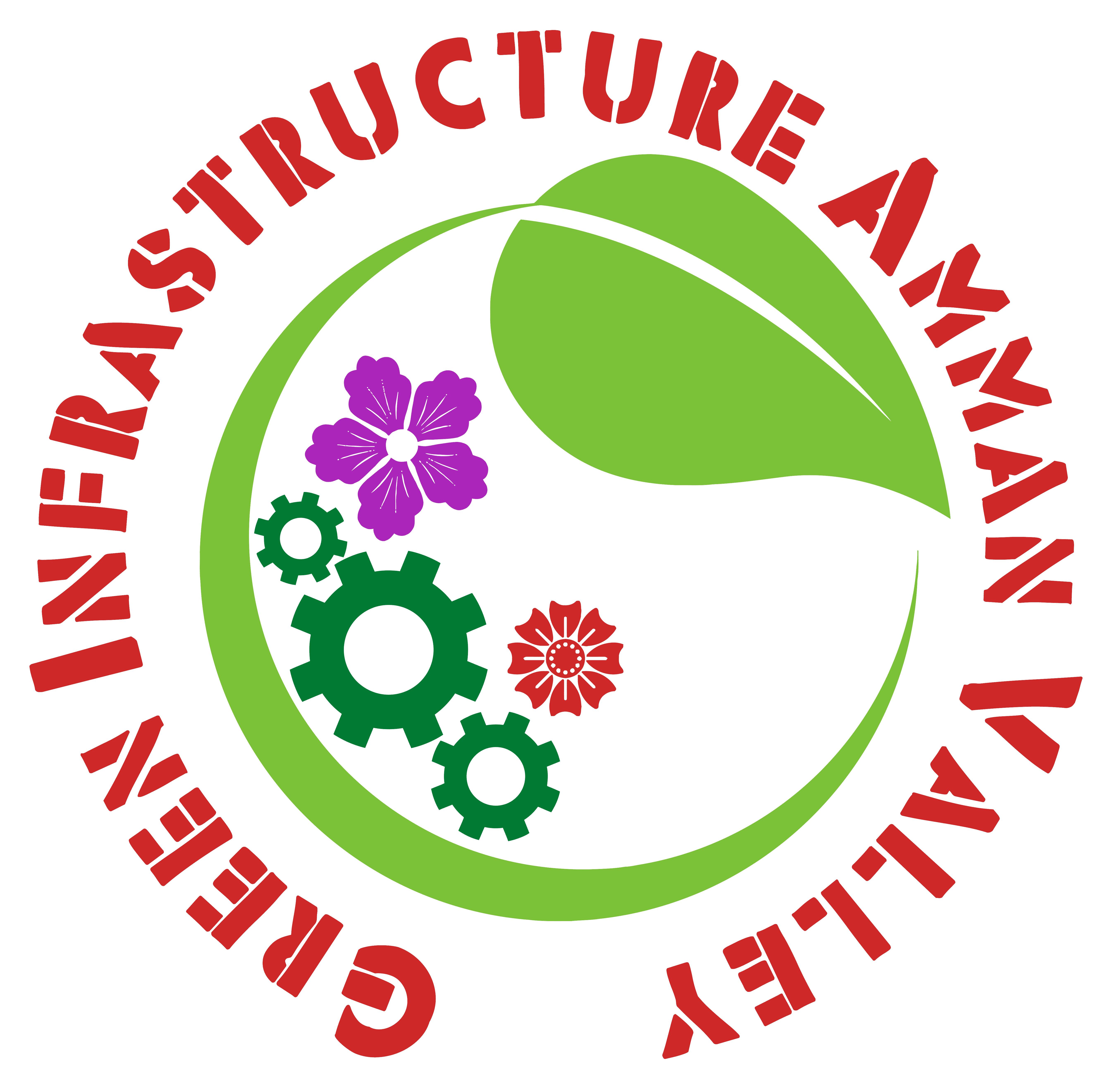 Green Infrastructure Amman Valley Circular Logo